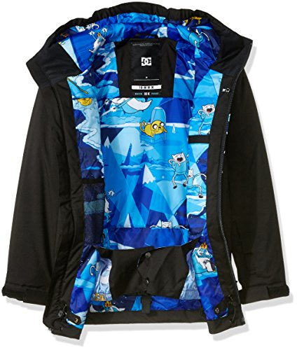 Big Jacket Boys' DC 14 Time Proof Snowboard XL Water Youth Story 10K Adventure Adw8w
