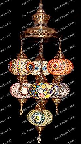 Mosaic Chandelier Filigree Copper MosaicMosaic LampTurkish LampMoroccan Lantern