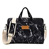 Best 15inch Laptop Bags - Canvaslife Black Marble Pattern 15 inch Waterproof Laptop Review