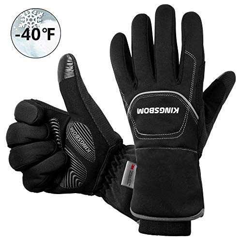 KINGSBOM Waterproof & Windproof Thermal Gloves
