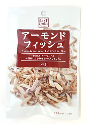 Nakanishi food best choice almonds Fish 20gX15 bags
