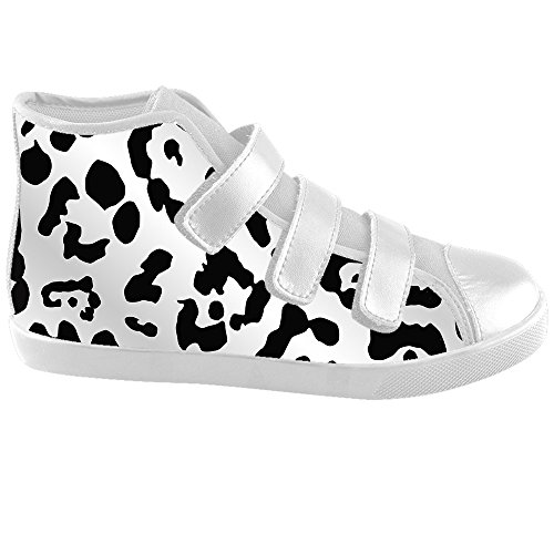 Custom Leoparden print Kids Canvas shoes Schuhe Footwear Sneakers shoes Schuhe C
