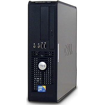 Dell 780 SFF Desktop, Intel Core 2 Duo E8400 3.0 GHz, 4 GB DDR3, 250 GB, Windows 7 Pro, Negro - Plata Reacondicionado (Certified Refurbished)