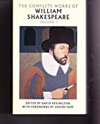 THE COMPLETE WORKS OF WILLIAM SHAKESPEARE…