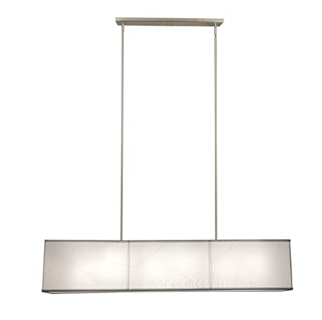 pendulum lighting fixtures. New 6 Lamp 48\u0026quot; Rectangular Shade Chandelier Pendant Lighting Fixture Pendulum Lighting Fixtures E