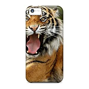 Top Quality Cases Covers For Iphone 5c Cases With Nice Tiger Appearance