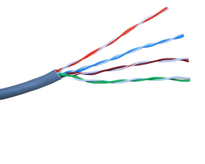 Amazon.com: VIVO New Full Copper 1,000 ft bulk Cat6 Ethernet Cable ...