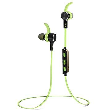 Alitoo Auriculares Bluetooth Magnéticos Inálambrico Cascos Deportivos,In Ear Estéreo Earphone con Micrófono Cancelación de Ruido CVC6.0 Manos Libres para ...