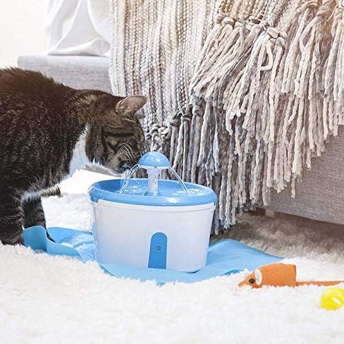 Yshen - Dispensador de Agua para Perros y Gatos, con Filtro de ...