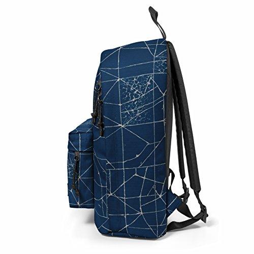Eastpak Out Of Office Rucksack, 44 cm, 27 L, Blau (Cracked Blue)