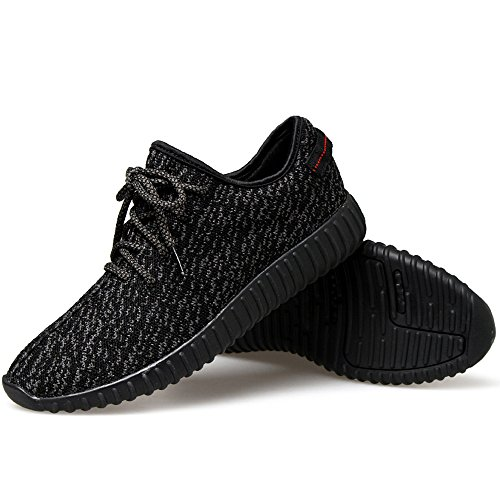 02. JACKSHIBO Men Women Unisex Couple Casual Fashion Sneakers Breathable Athletic Sports Shoes