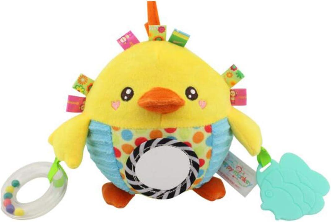 Pelota de juguete Pollito amarillo con coloridas etiquetas - Tag ...