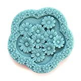 Longzang Chrysanthemum Mould S402 Craft Art Silicone Soap Mold Craft Molds DIY Handmade Candle Molds