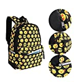 Cute Emoji Backpack for Kids Cool Backpack Purse Book Bag School Bag - Best for Day to Day Use