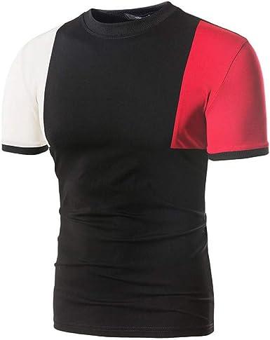 Berimaterry Camisetas Moda Hombre Camisetas Hombre Camisetas Hombre Manga Corta Polos Hombre Manga Corta Camisetas Element Hombre Camisas Joven Hombre Camisas Urbanas Hombre Top Cosido: Amazon.es: Ropa y accesorios