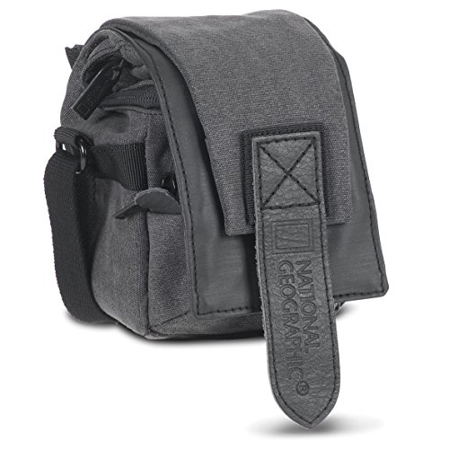 National Geographic NG W2022 Walkabout Small Holster for Mirrorless/Advanced Point and Shoot Cameras (Gray)