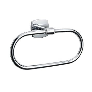 Charmingwater Edelstahl Handtuchringe Handtuchstange Handtuchhalter wandmontage Badetuch Ring Halterung Wandhandtuchhalter