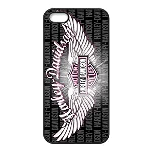 iPhone 5 5s Cell Phone Case Black Harley Davidson Personalized Custom Case YME