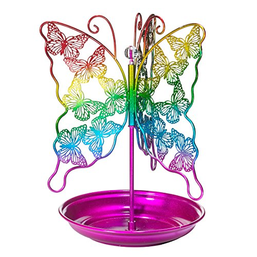 3C4G Spinning Butterfly Jewelry Holder