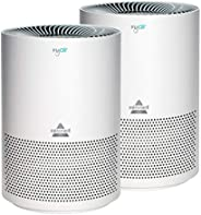 Bissell MYair, 2 Pack, Purifier with High Efficiency and Carbon Filter for Small Room and Home, Quiet Bedroom