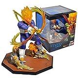 Dragonball Kai Z Super Saiyan Vegeta Figuarts Zero The ultimate flash Toys 5'' Figure