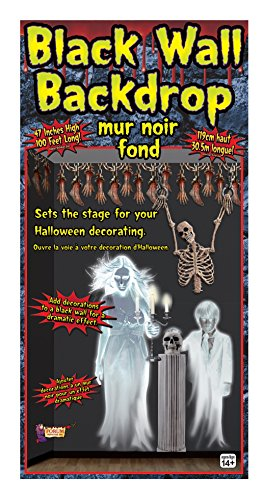 Forum Novelties Roll Backdrop Wall Decoration, 47 x 100', (Wall Coverings For Halloween)