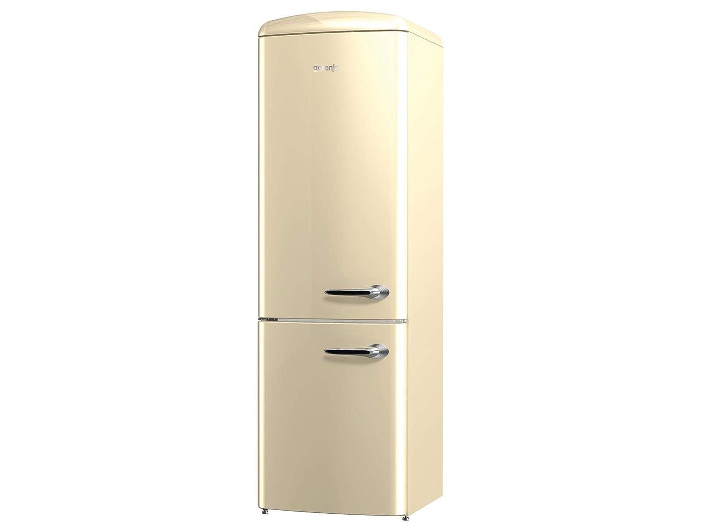 Gorenje Kühlschrank Mit Gefrierfach : Gorenje ork c l stand kühl gefrier kombination champagne beige