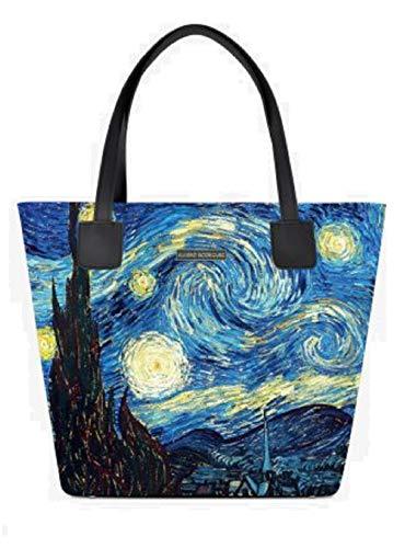 Borsa Rodriguez Shopper Notte Stellata Alviero OnX8Pk0w