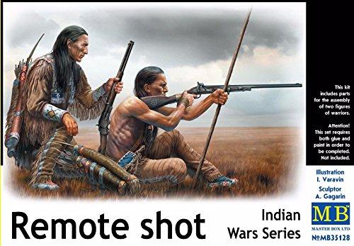 PLASTIC MODEL BUILDING KIT INDIAN WARS SERIES REMOTE SHOT 1/35 MASTER BOX (Master Box Ltd)