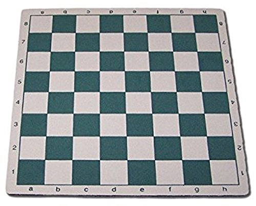 ChessCentral's Mousepad Chess Board in Green
