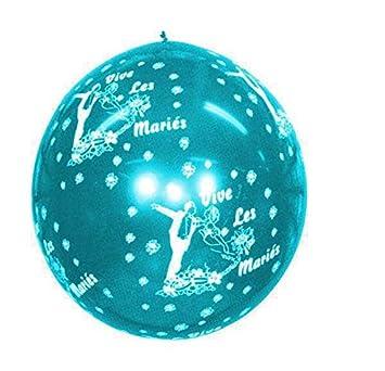 Viva las maries-Balón de juego gigante 85 cm, color azul turquesa ...