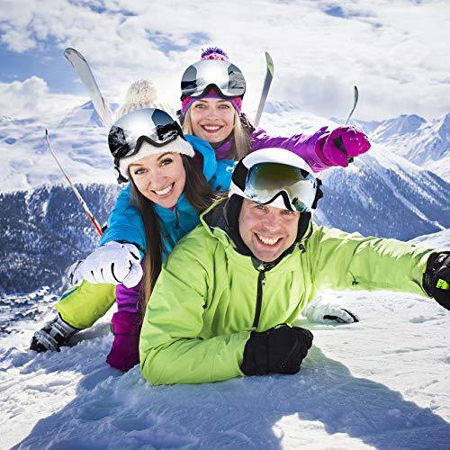 OMORC Anti-Fog Snowboard Goggles