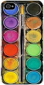 Art/Paint Box- Case for the Apple Iphone 6 4.7-6 4.7s Universal- Hard White Plastic