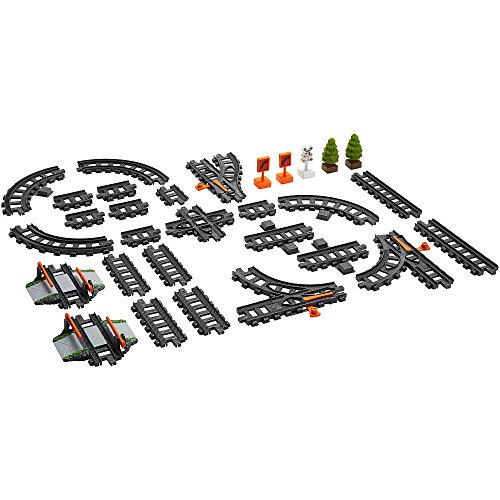 Fisher-Price EZ Play Railway Box of Tracks