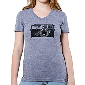 GarageProject101 Women's Leica M6 Camera T-Shirt (Junior Size)