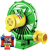 B-AIR Koala 1 HP Bounce House Blower for Large Sized Inflatable Bounce House and Consumer Slides