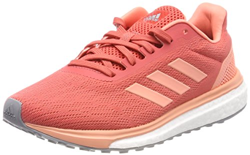 adidas Response W, Chaussures de Running Femme Orange (Trace Scarlet S18/chalk Coral S18/grey Three F17)