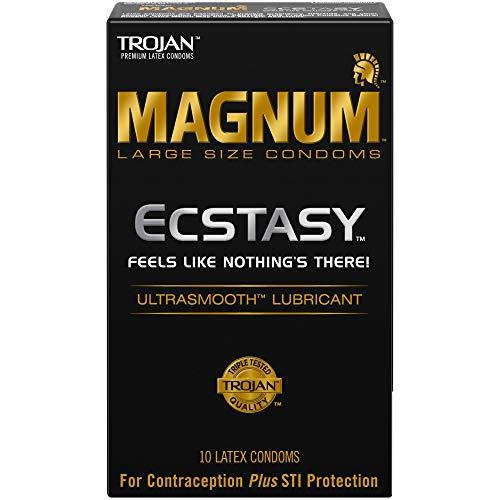 Magnum ECSTASY Ultrasmooth Lubricant,10ct