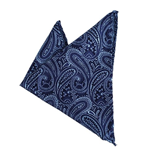 DEE7B18A Contemporary Blue Patterned Fantastic Microfiber Accessories Luxury Hanky Online Shopping For Graduation Set By Dan - Shopping Luxury Online
