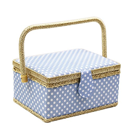 blue sewing basket - 3