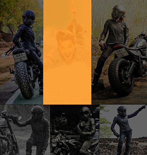 Ciclismo de explosiones Materiales PC Gafas Prueba a Harley Casco TpwnqEC