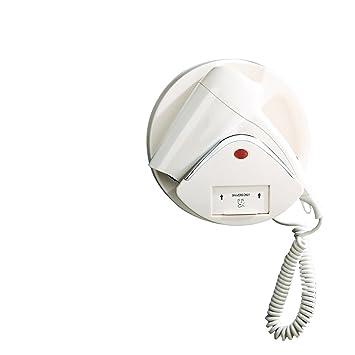 Wall-mounted hair dryer Secador de Pelo de Pared Secador de Pelo casero de Hotel Comercial Máquina de Pelo de Viento Caliente y fría (Color : B): Amazon.es: ...