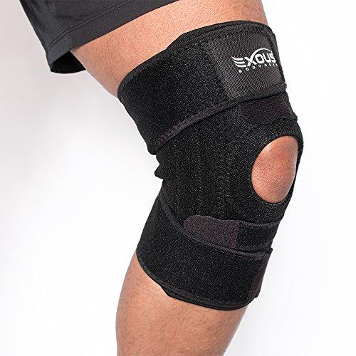 EXOUS Bodygear EX-701 Kniebandage Mit Seitliche Stabilisatoren