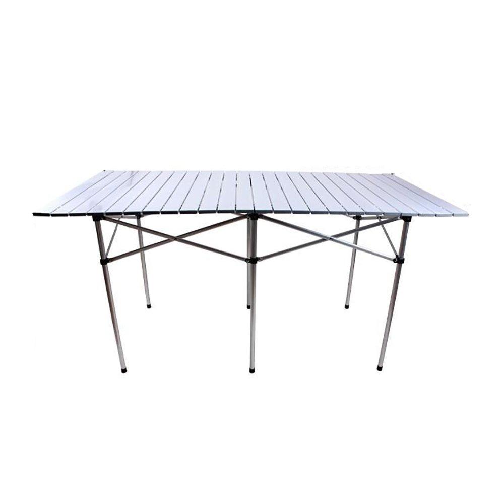 QIN PING GUO Klapptisch - tragbarer Tisch im Freien/Ultra Heller Klapptisch/Multifunktionstisch aus Aluminiumlegierung