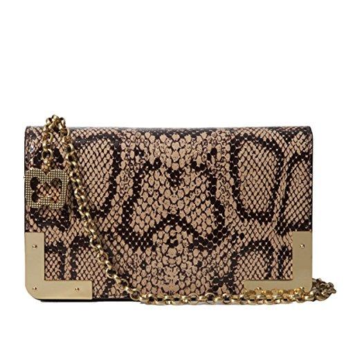Eric Javits Luxury Fashion Designer Women's Handbag - Cassidy - Beige Mix by Eric Javits