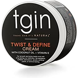 tgin Twist and Define Cream for Natural Hair, 2 oz