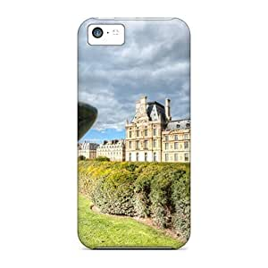 Statues Outside The Louvre Back Cover Snap On For SamSung Galaxy S6 Case Cover