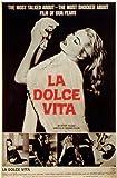 La Dolce Vita Poster Movie 11x17 Marcello Mastroianni Anita Ekberg Anouk Aimee Alain Cuny