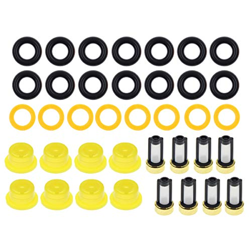 (MOTOALL Fuel Injector Repair ORings Kit For Ford V8 5.4L 4.6L, Lincoln and Mercury)