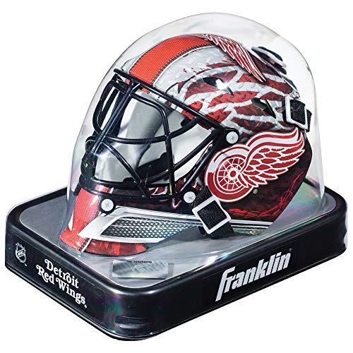 - Franklin Sports NHL League Logo Detroit Red Wings Mini Goalie Mask